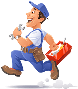 A Plumber in Blue Jeans